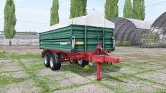 Farmtech TDK 1600 by FBM-Team для Farming Simulator 2017