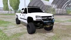 Chevrolet Silverado 2500 HD Crew Cab 2006 для Farming Simulator 2017
