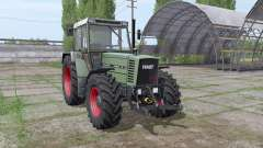 Fendt Farmer 312 LSA Turbomatik v1.1 для Farming Simulator 2017