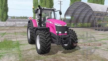 Massey Ferguson 8735 v1.0.1.4 для Farming Simulator 2017