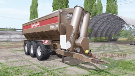 BERGMANN GTW 430 v1.0.0.2 для Farming Simulator 2017