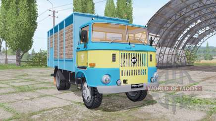 IFA W50 L cattle transport by Hewaaa для Farming Simulator 2017