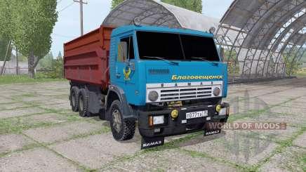 КамАЗ 55102 для Farming Simulator 2017