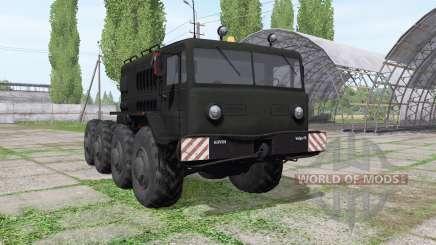 МАЗ 537 1965 для Farming Simulator 2017