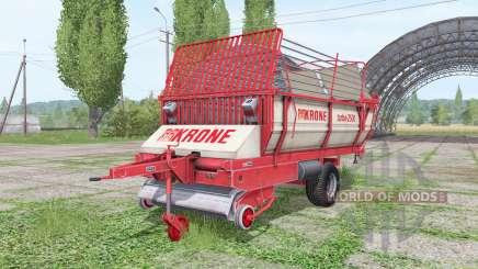 Krone Turbo 2500 v1.3 для Farming Simulator 2017