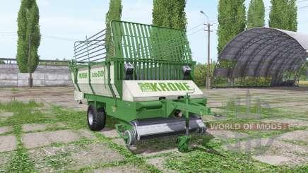 Krone Turbo 2500 green для Farming Simulator 2017