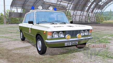 Fiat 125p 1982 Volkspolizei для Farming Simulator 2017