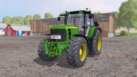 John Deere 6830 Premium v1.7 для Farming Simulator 2015