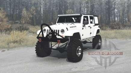 Jeep Wrangler Unlimited Rubicon (JK) crawler для MudRunner