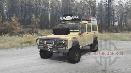 Land Rover Defender 110 Station Wagon для MudRunner