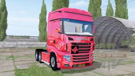 Scania R700 Evo tielbeke v2.2 для Farming Simulator 2017