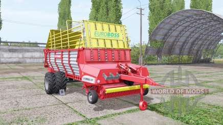 POTTINGER EUROBOSS 330 T twin tires v1.7 для Farming Simulator 2017