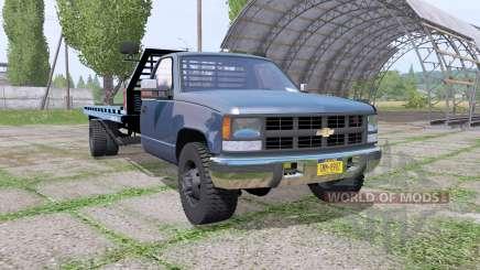 Chevrolet K3500 1994 rollback для Farming Simulator 2017