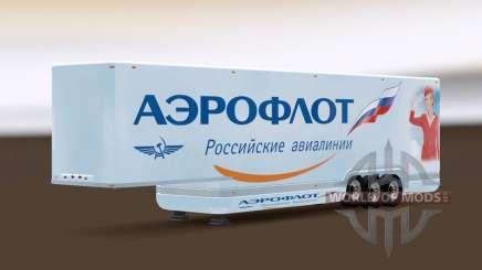 AeroDynamic Airlines Trailer для Euro Truck Simulator 2