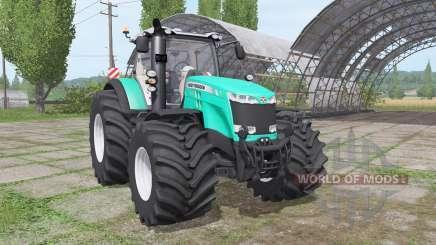 Massey Ferguson 8730 v1.0.1.3 для Farming Simulator 2017