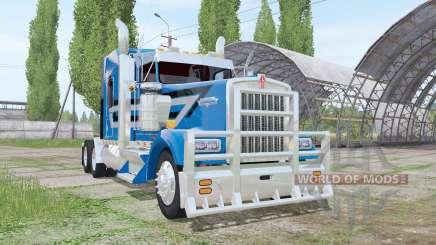Kenworth W900L by Wayne Sumner для Farming Simulator 2017