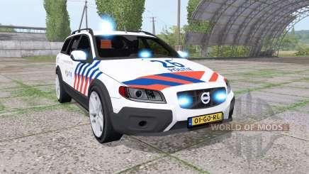 Volvo XC70 Politie для Farming Simulator 2017