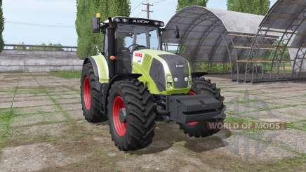 CLAAS Axion 830 v4.0 для Farming Simulator 2017