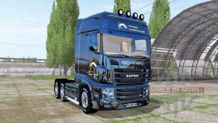 Scania R700 Evo Virtual Agriculture для Farming Simulator 2017