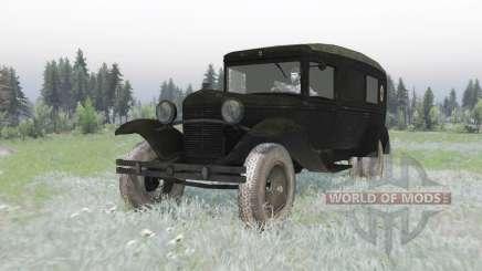 ГАЗ 55 1938 Санитарный v1.2 для Spin Tires
