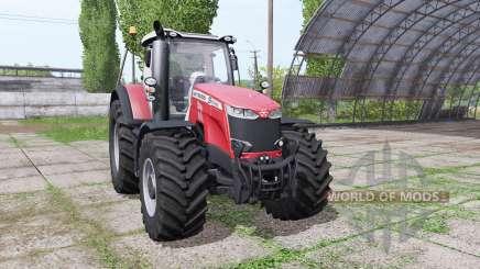 Massey Ferguson 8740 S для Farming Simulator 2017