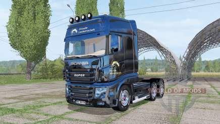 Scania R700 Evo Virtual Agriculture v1.2 для Farming Simulator 2017
