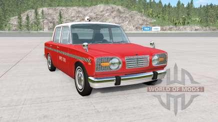 Ibishu Miramar Taxi v1.02 для BeamNG Drive