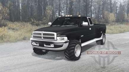 Dodge Ram 3500 для MudRunner