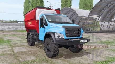 ГАЗ ГАЗон Next (C41R13) 2014 кормосмеситель v1.2 для Farming Simulator 2017