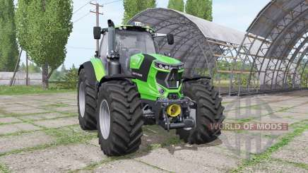 Deutz-Fahr Agrotron 7250 TTV warrior grün для Farming Simulator 2017