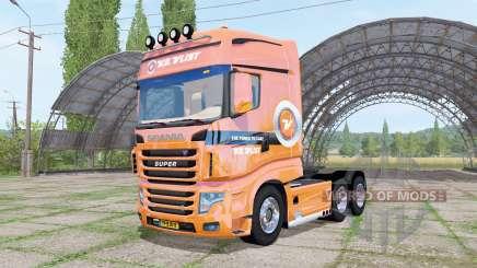 Scania R700 Evo V.D.Vlist v3.1 для Farming Simulator 2017