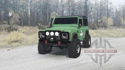Land Rover Defender 90 для MudRunner