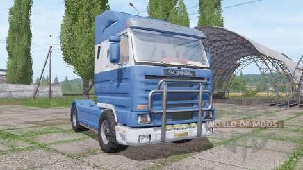 Scania 143M 500 v1.1 для Farming Simulator 2017
