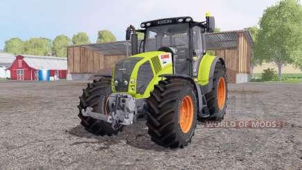 CLAAS Axion 850 v6.9 для Farming Simulator 2015