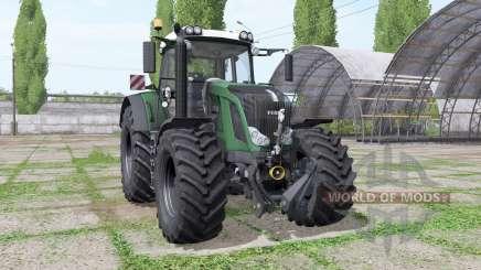 Fendt 828 Vario v1.1 для Farming Simulator 2017