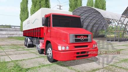 Mercedes-Benz L 1620 Eletronic Bi-Truck для Farming Simulator 2017