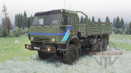 КамАЗ-5350 Мустанг для Spin Tires