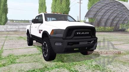 Dodge Ram 2500 Power Wagon Crew Cab для Farming Simulator 2017