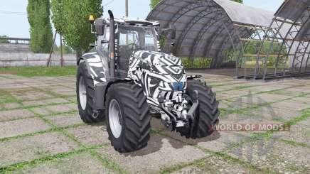 Case IH Puma 155 CVX Tribal для Farming Simulator 2017