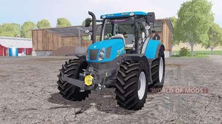 New Holland T6.175 by AgroSketch a.s. для Farming Simulator 2015