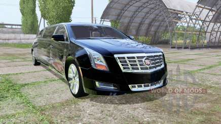Cadillac XTS Limousine для Farming Simulator 2017