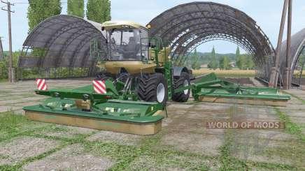 Krone BiG M 500 v1.2.0.1 для Farming Simulator 2017