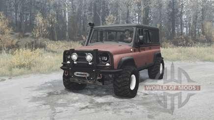 УАЗ 3153 1996 для MudRunner