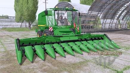 John Deere T660i dynamic hose для Farming Simulator 2017