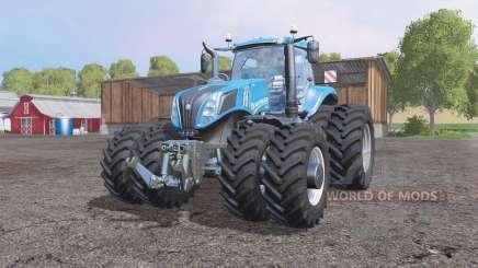 New Holland T8.275 v1.2 для Farming Simulator 2015