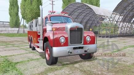 Mack B61 Fire Rescue для Farming Simulator 2017