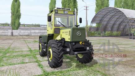 Mercedes-Benz Trac 700 v2.3 для Farming Simulator 2017
