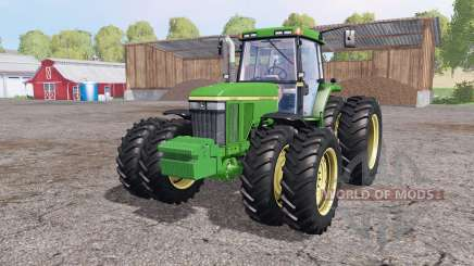 John Deere 7810 v1.1 by Julian11 для Farming Simulator 2015