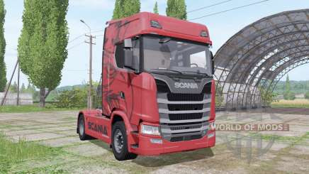 Scania S 680 V8 2016 для Farming Simulator 2017