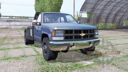 Chevrolet K3500 1994 flatbed для Farming Simulator 2017